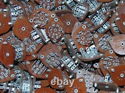 25 NOS (Twenty five) CHINCH 9 PIN Bakelite Vintage Tube sockets 12AX7 6922 EL84