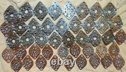 44 Pieces Nos Vintage Bakelite Tube Sockets 9 & 8 Pin 6l6g 12ax7 Ecc83 Kt88 350b