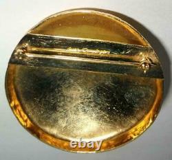 6 Vintage Pins / CROWN TRIFARI / HOBE / S CUMMINGS / D'ORLAN / BAKELITE / ENAMEL
