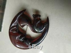 Rare vintage bakelite pin brooch for Halloween