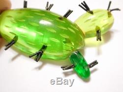THE BEST & MOST RARE 1940s Vintage BAKELITE CACTUS PIN by MARTHA SLEEPER