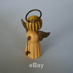 Vintage 1930's Martha Sleeper Bakelite Angel Pin Brooch