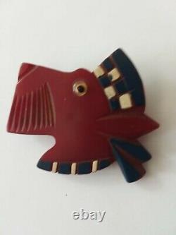 Vintage 1930s 40s Scottie Dog Brooch Pin