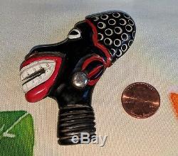 Vintage Bakelite Brooch Pin Josephine Baker Large African Figural Antique