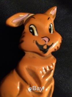 Vintage Bakelite Martha Sleeper Bunny Rabbit Pin