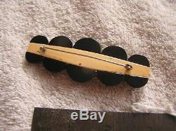 Vintage Bakelite Pin Beautiful