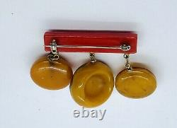 Vintage Dangling Bakelite South Of The Border3 SOMBREROSPIN