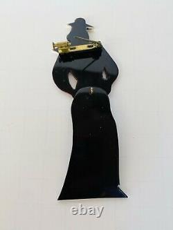 Vintage French Bakelite Dancing Sailor Pin