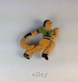 Vintage Jai Alia Bakelite Pin Brooch