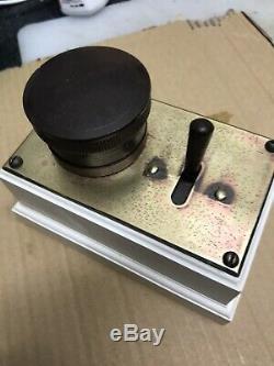 Vintage Mk Ivory Bakelite Round 3 Pin Plug Socket Plug+