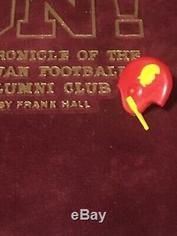 Vintage RARE 1950s USC TROJANS FOOTBALL HELMET BAKELITE PIN