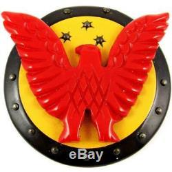 Vintage Wwii Patriotic United States Home Front Victory Eagle Bakelite Brooch