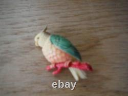 Vintage cockatoo made in japan pin